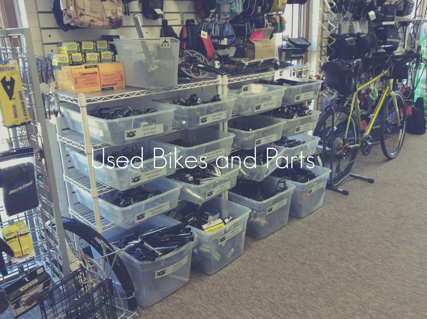 used bikes and parts re cycle bike shop
