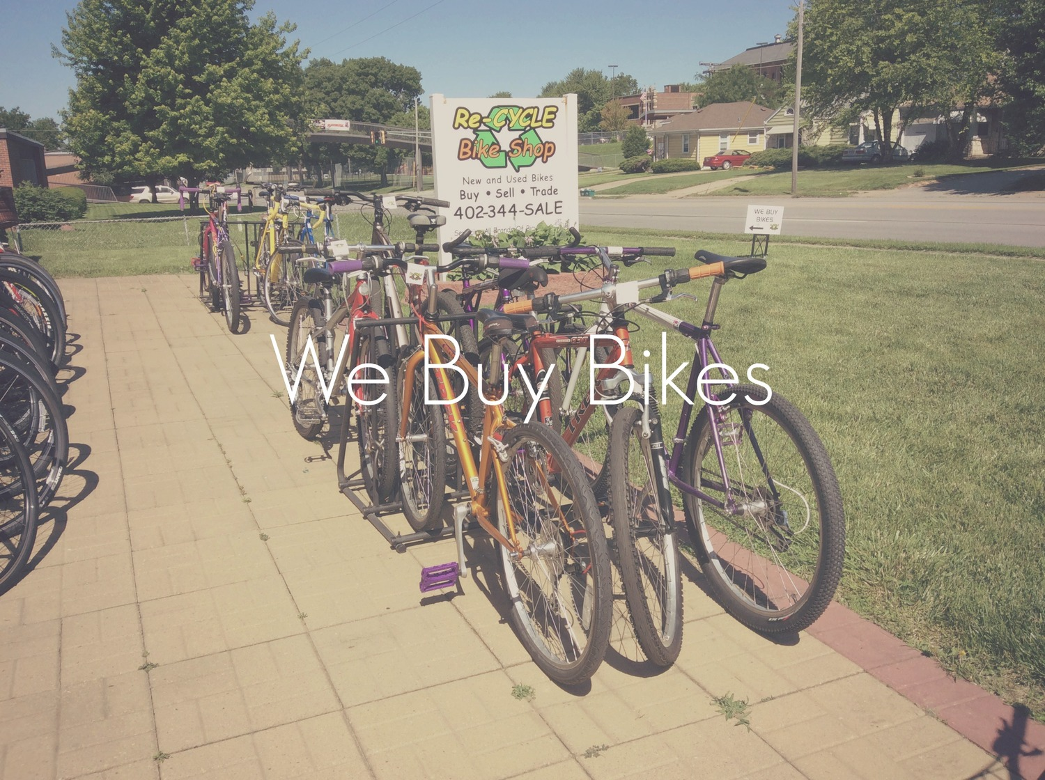 We buy bikes — Re-Cycle Bike Shop