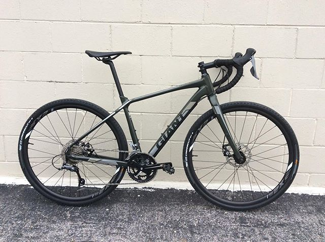 This just in! New Giant ToughRoad SLR GX 3 pretty awesome ride. Come in and check it out! #bikeomaha #giantbicycles