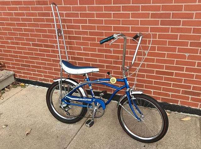 Just finished reconditioning this '68 Huffy Dragster 5! Come check this classic out! #bikeomaha