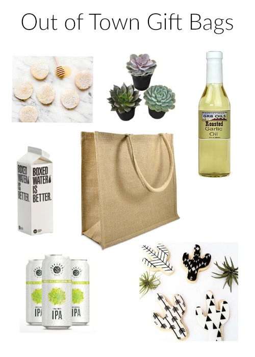 Wedding Welcome Bag Ideas For The Out Of Town Guest Sassy Soirees