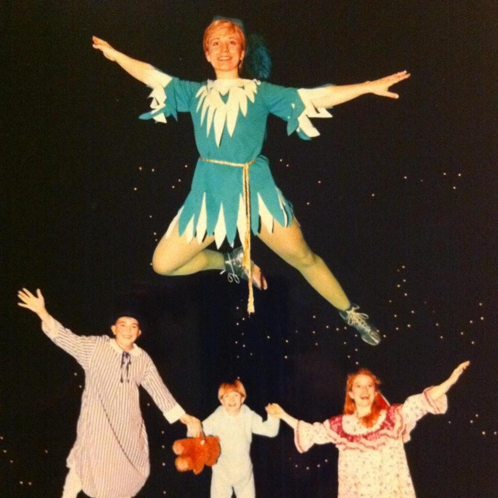 Wendy in Peter Pan