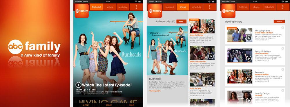 ABC Family Kindle app