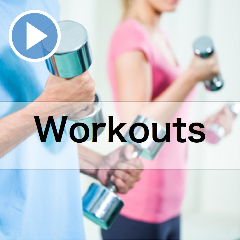 Easy to follow workouts for all fitness levels.  You can workout from your office, living room, hotel or on the go with little or no equipment needed. This is a new feature and we are adding new workouts weekly.
