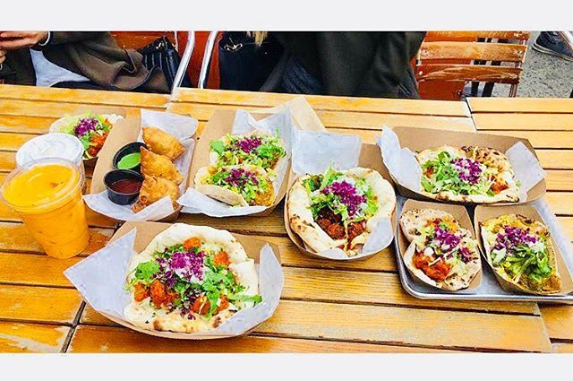 Now this we what we call a spread !! 🌮❤️ 📍@TacoMahalnyc 🌎 West Village, NYC 📸 @windyazheng