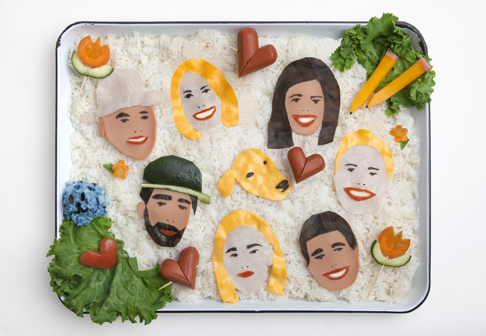 Family Portrait Bento Box