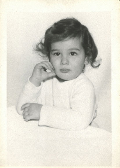Me! The early years. Pensive from the start.