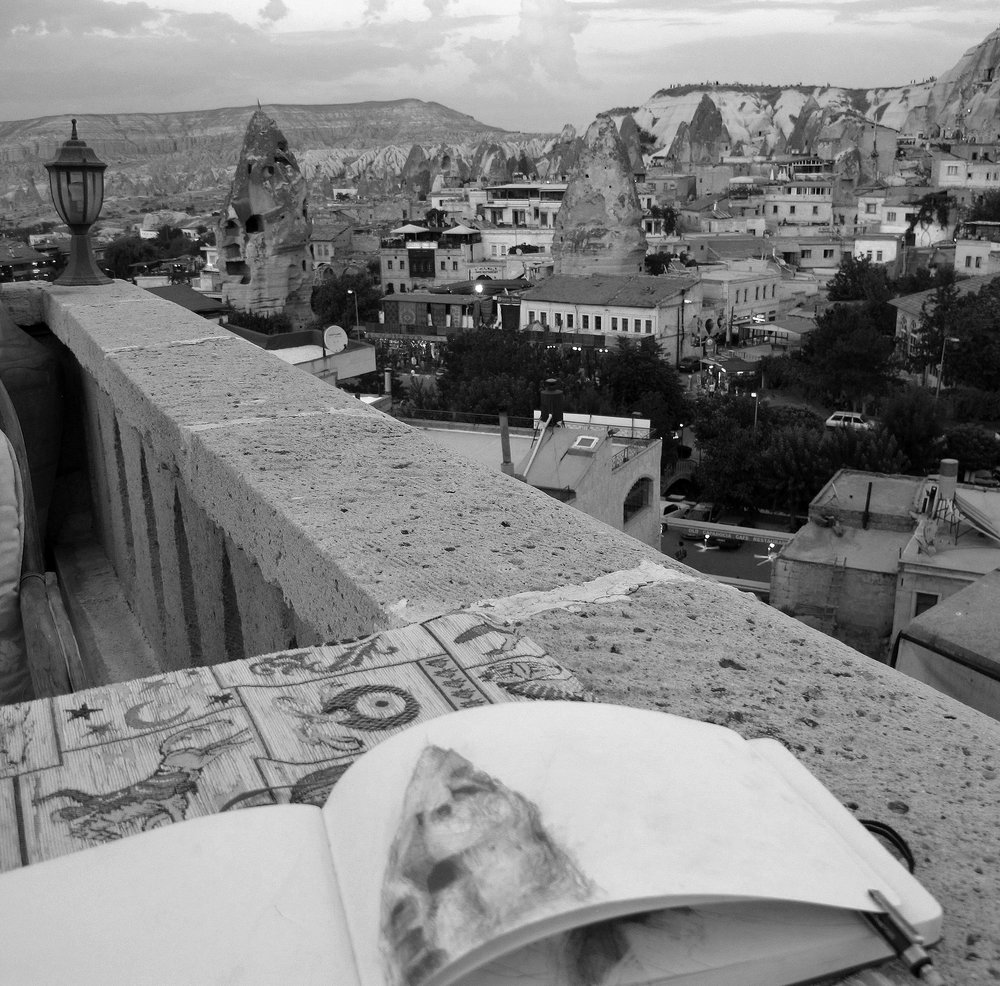 plein-air studies: Cappadoccia, Turkey