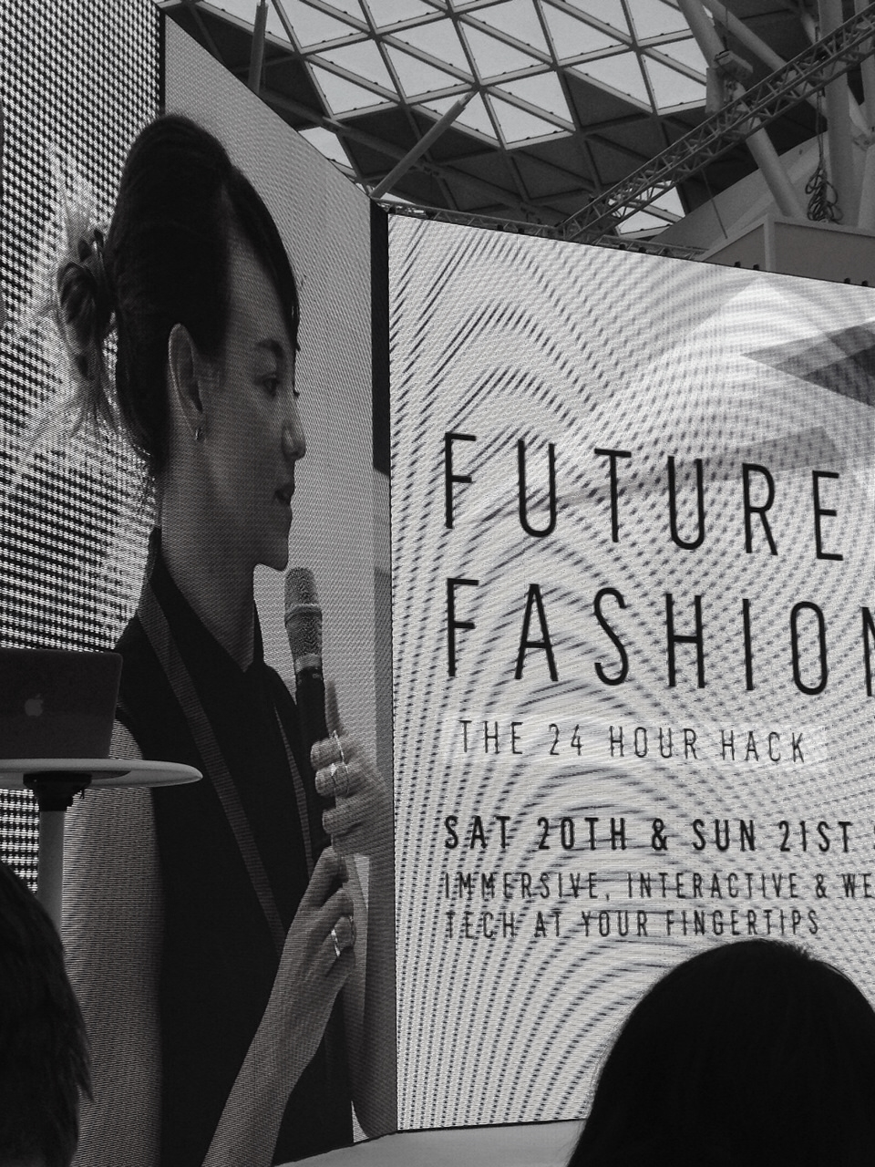 Presenter: Decoded Fashion Hackathon - Created a Wishlisting app with Holition (2014)