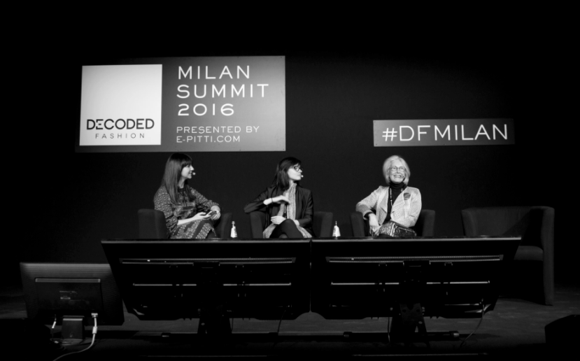 MODERATOR FOR DECODED FASHION MILAN: TOUCHPOINTS BEYOND TECH (2016)