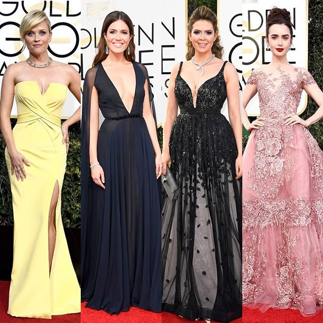 Can't get over the red carpet looks from last night's Golden Globes 😍 Here are a few of our favorites, who were yours?