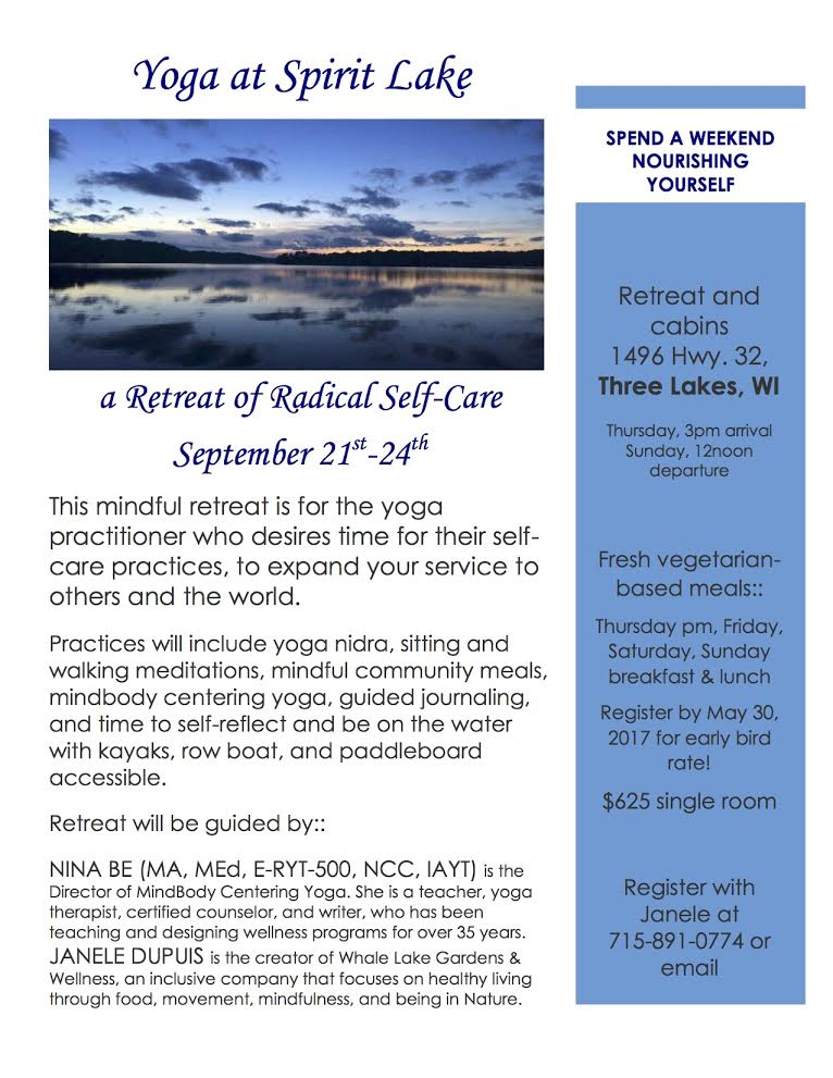 Radical Self Care Yoga Retreat Information