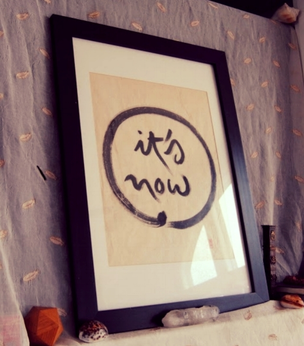 framed mindfulness artwork