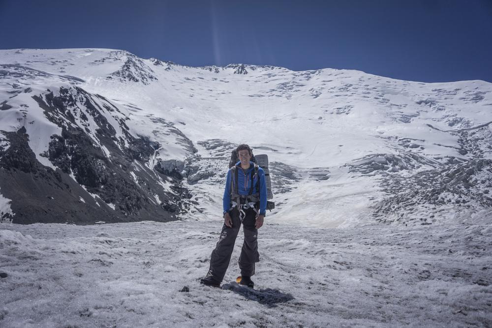 Arjen terug van de top