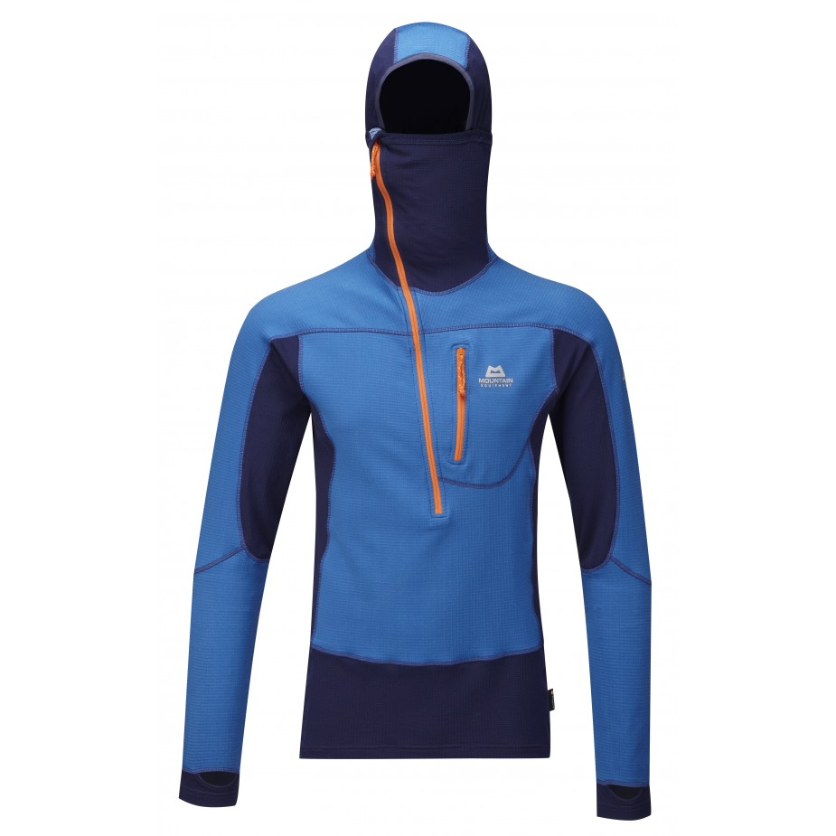 Mountain Equipment Eclips Hooded Zip Tee