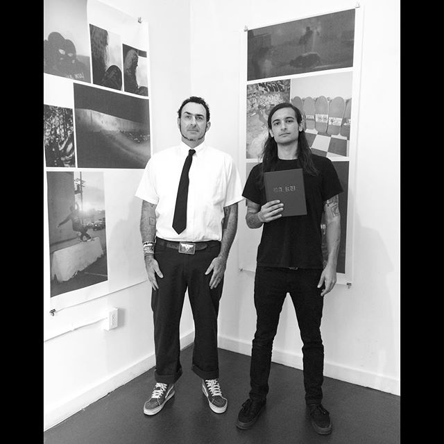 BARRIER KULT HARDCOVER BOOK SIGNING - Anthony showcased various prints from his book for his 2015 show.