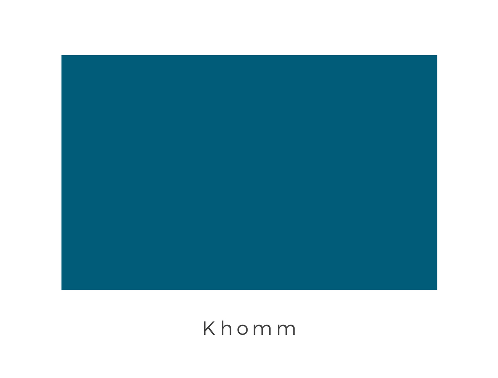 Khomm  was a planet on the edge of the Deep Core with wide blue seas, great land masses, and an abundance of oxygen. It was the home planet to the Khommites and the Khommite striders. The Khommites possessed a culture of conformity, with a society that had remained unchanged for nearly a millennium. They decided they had reached the pinnacle of their civilization in 990 BBY, so life on the planet remained static. Their culture of conformity is a source of pride for the Khommites and has been expressed in the single colour deep blue flag.