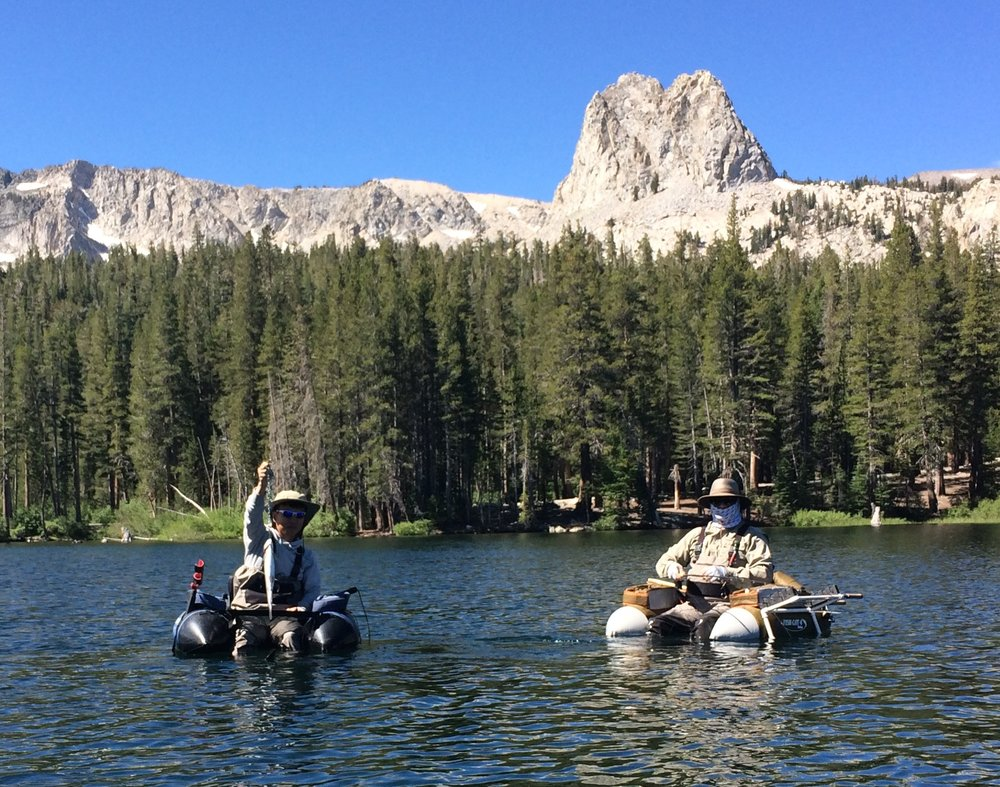 Float Tubing - In the Mammoth Lakes Basin