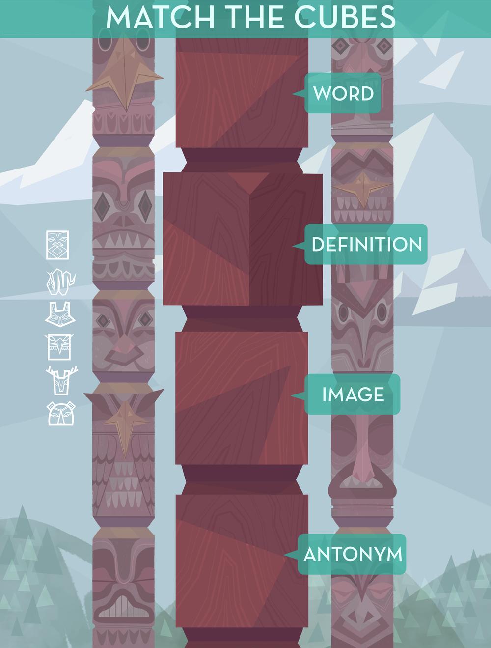 """Totem"" Game UI & Background"