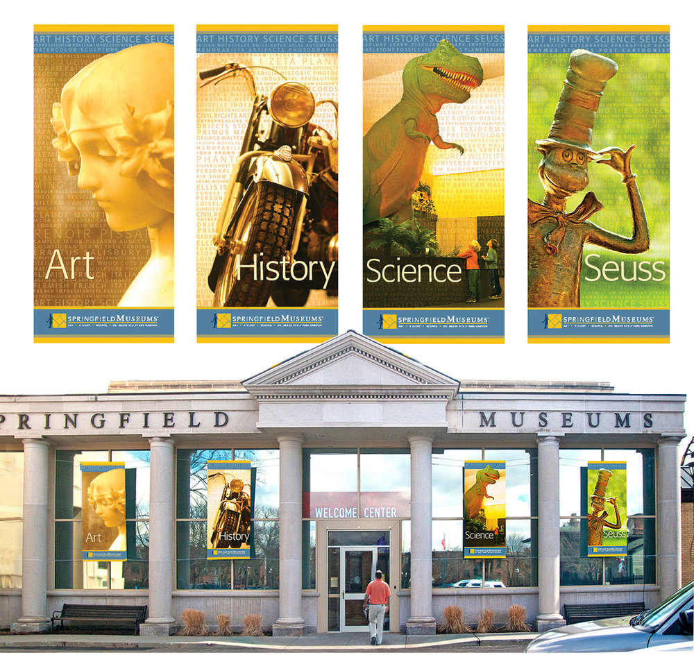 Museum banners