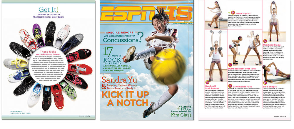 ESPNHS  Magazine; Photographs by  Gizel Florez ,  Danny Vega , and  Dustin Snipes