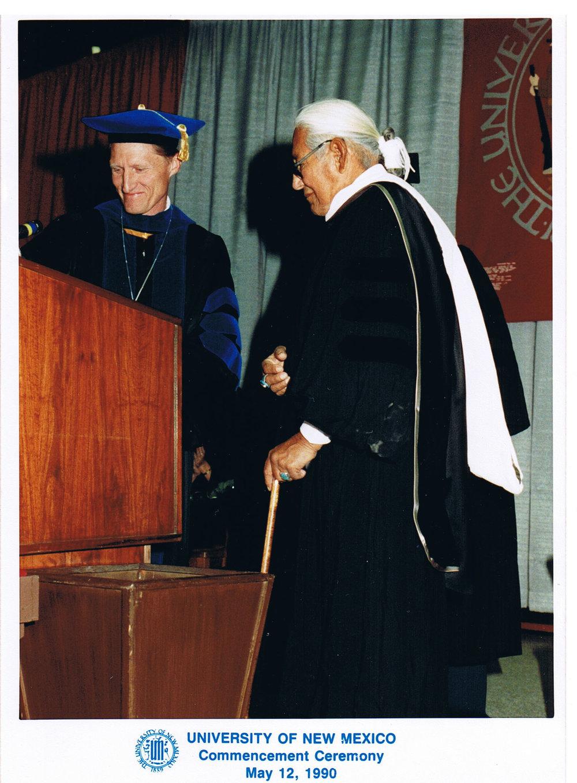 Dr. Carl N. Gorman, UNM