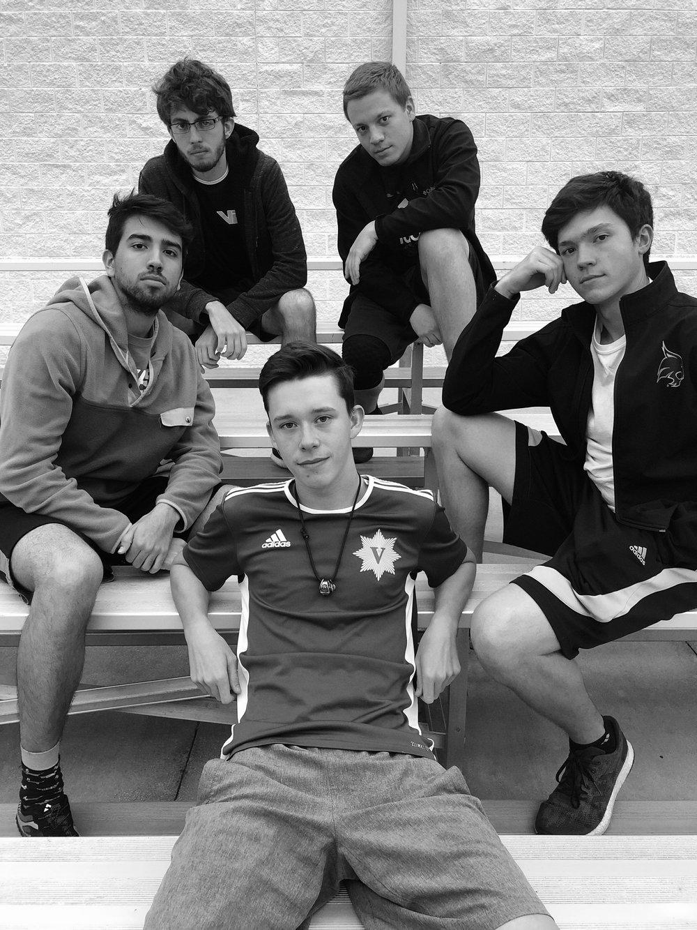 Quads - Henry Grimshaw, Aaron Perez, Matthew Zintgraff, David Gatlin, Christian Blocker