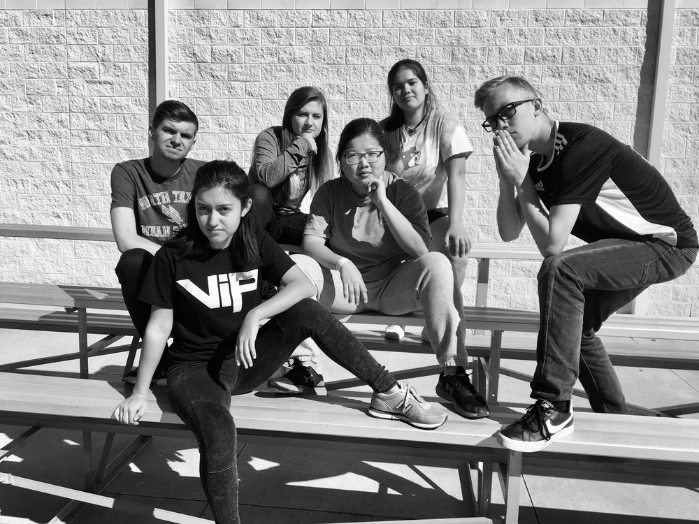 Woods - Ryan Hodges, Julianna Fletcher, Xochitl Vasquez, Ashley Kim, Lauren Gonzalez, Seth Richburg
