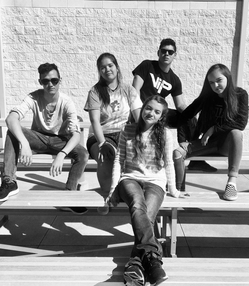 Metals - Aeris Clarkson, Christian Jones, Izabel Holland, Lauren Gonzalez, Jacob Perales