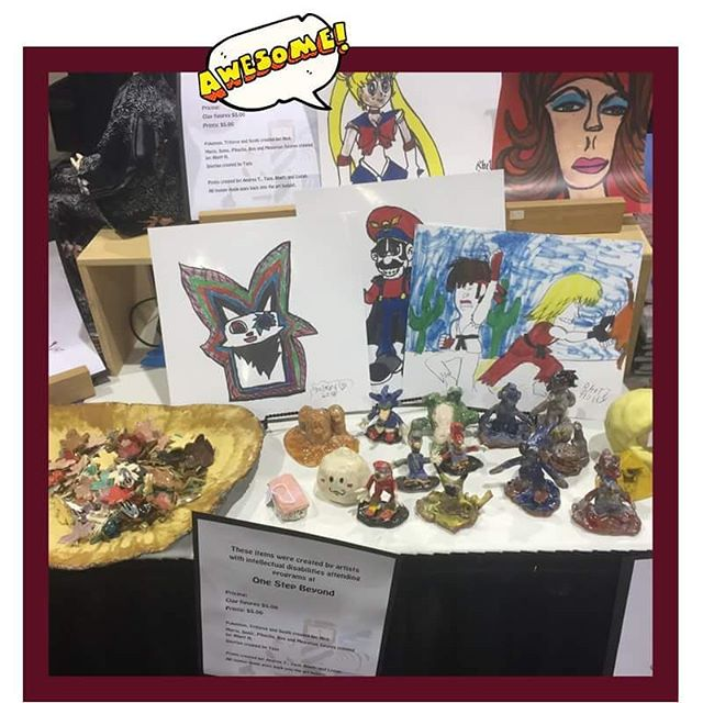Say what?! OSBI has art for sale at @phoenixcomicfest? It's true, find us at the Artist Alley Booth AA1331 and say hi! #PHXCF