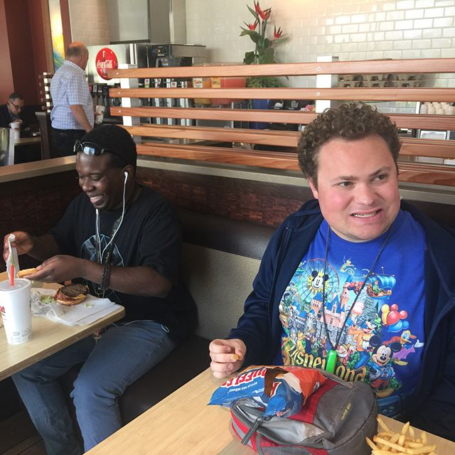 The #OSBI San Mateo Sharks hockey team celebrated their season completion with a delicious lunch yesterday at The Habit Burger Grill. The team will be taking the summer off and resuming their season in the fall with an official partnership with the @sanjosesharks . Congrats to everyone who made this season a tremendous success!!!! #hockey #disabilityawareness #abilities #sanmateo #ca #california #cali #sports #love #team