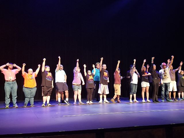 Who's ready for tonight's show? Members are rehearsing and SUPER excited  to hit the stage for tonight's performance. See you there! #ItsAlmostShowtime