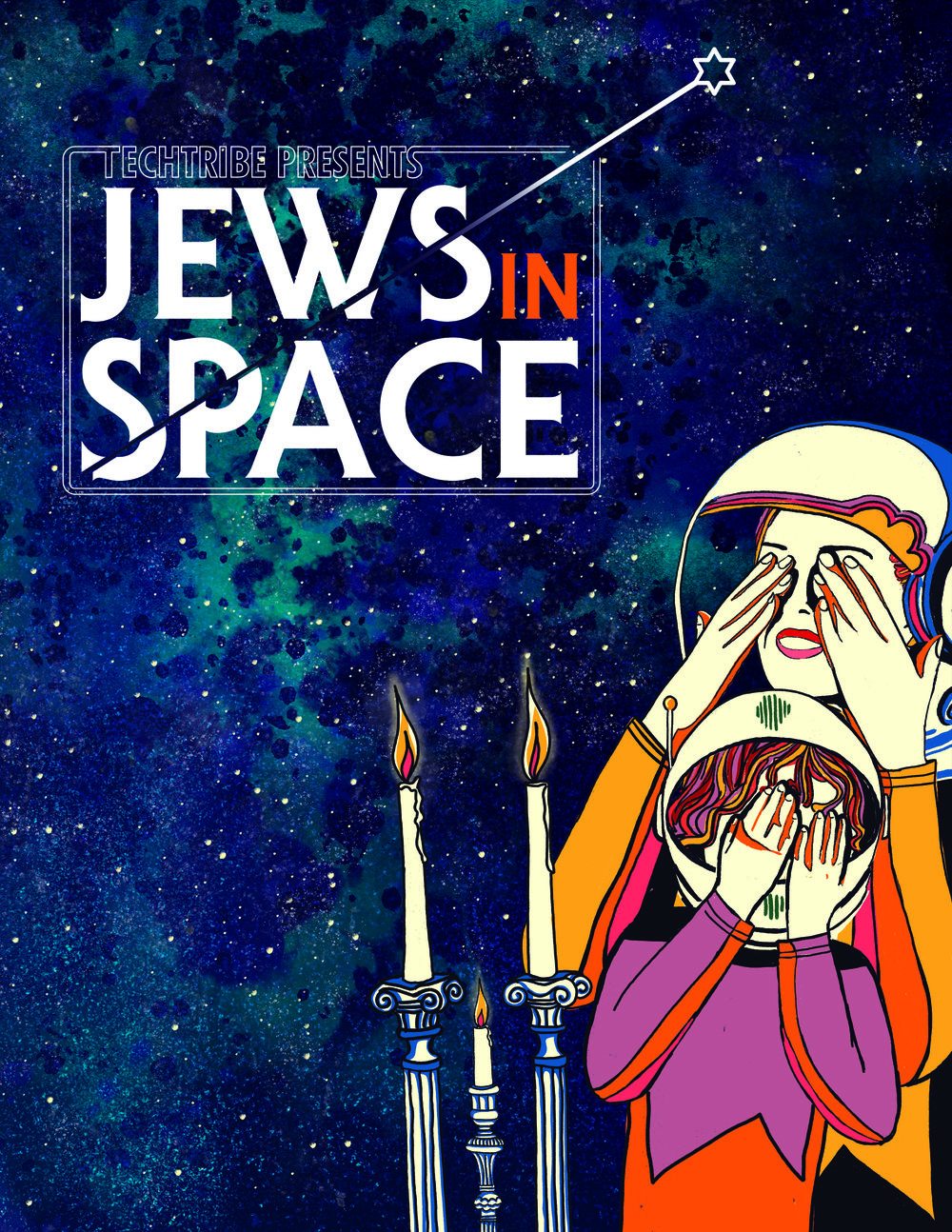 Our First Jews in Space event