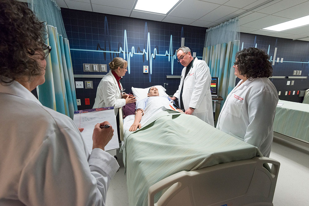 Simulation Nursing Lab