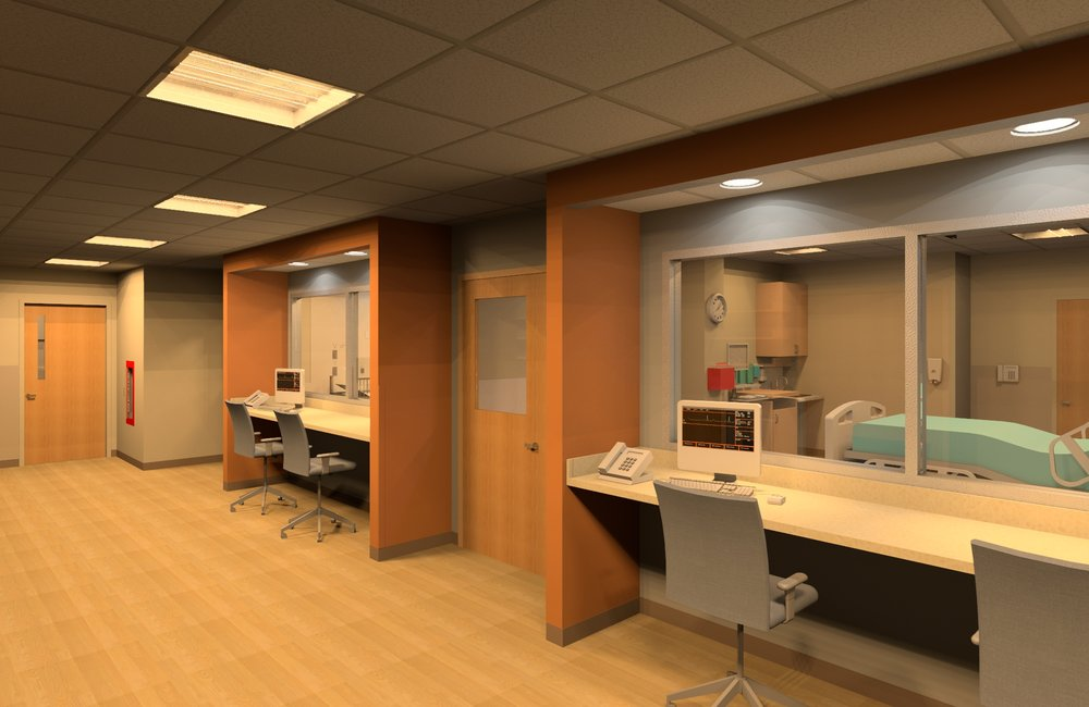 Rendering - View into Simulation Labs