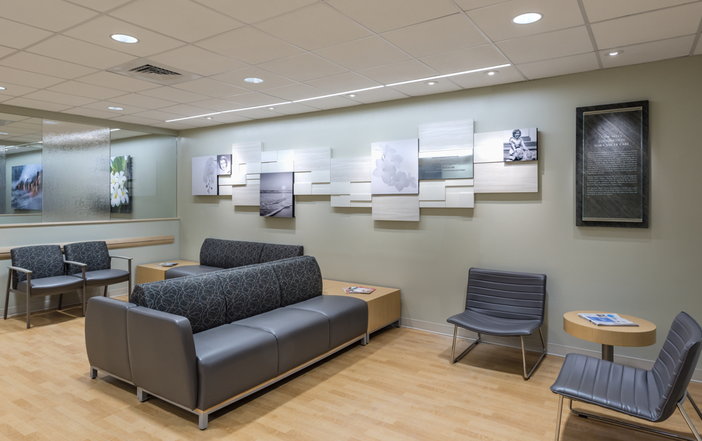 Waiting Room and Donor Wall