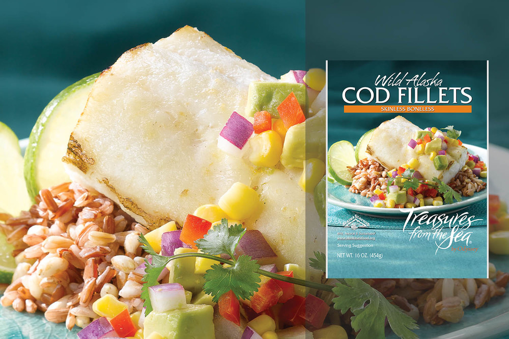 ALL NATURAL COD FILLETS