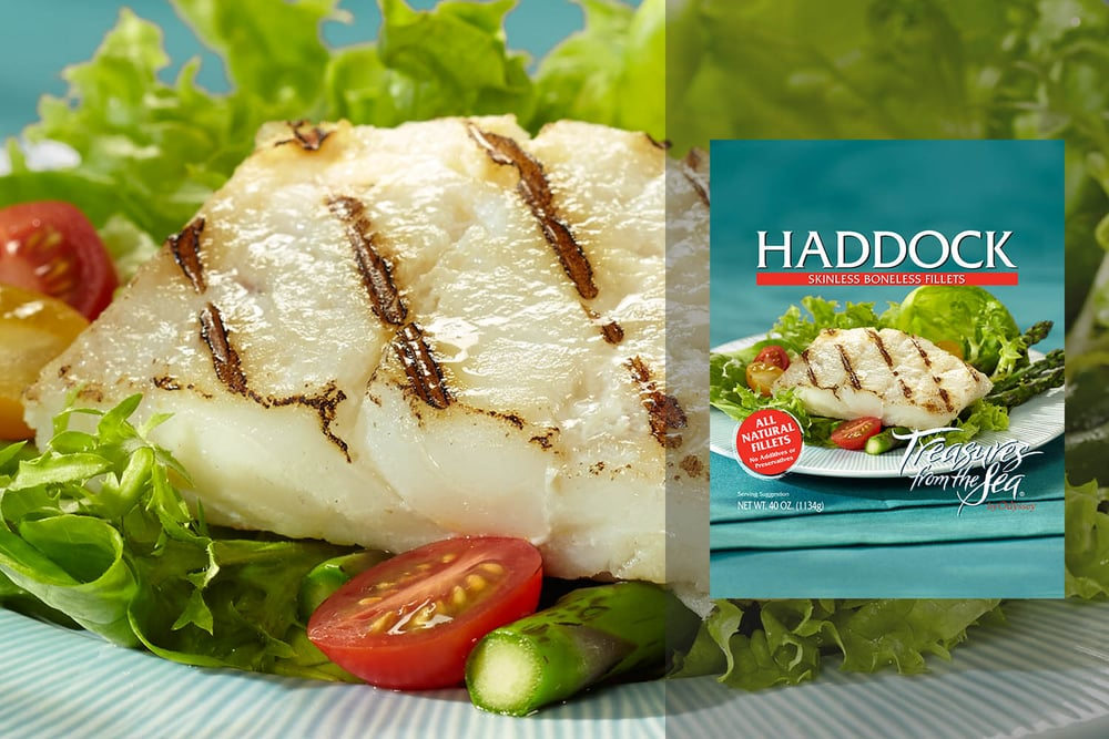 ALL NATURAL HADDOCK FILLETS