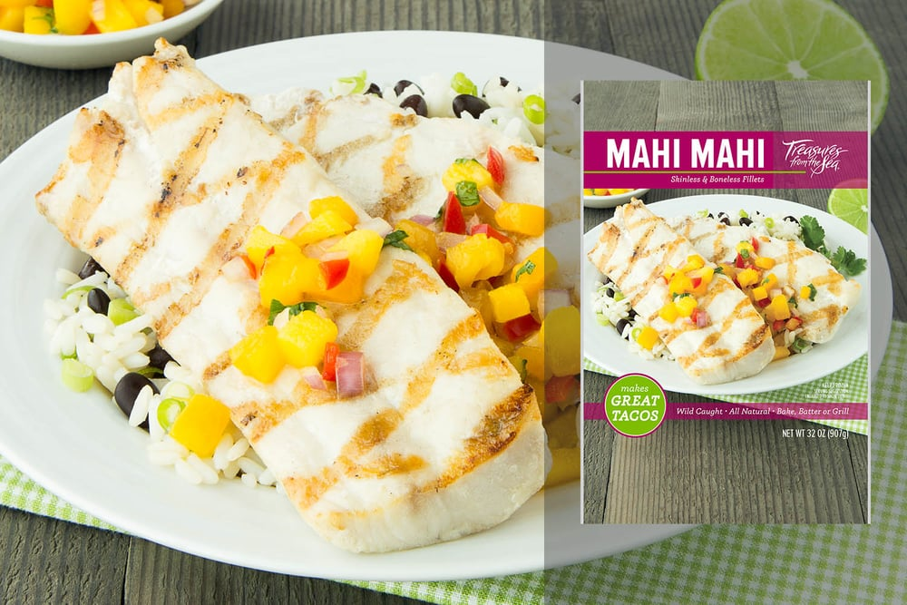 ALL NATURAL MAHI MAHI FILLETS