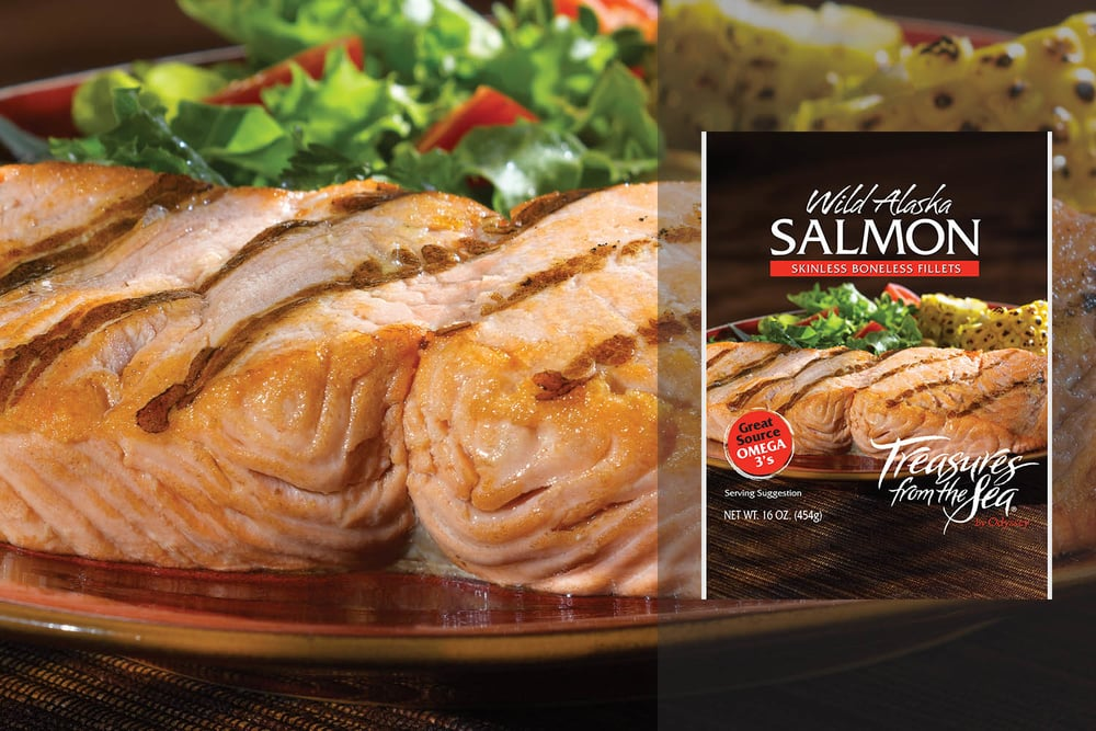 ALL NATURAL SALMON FILLETS