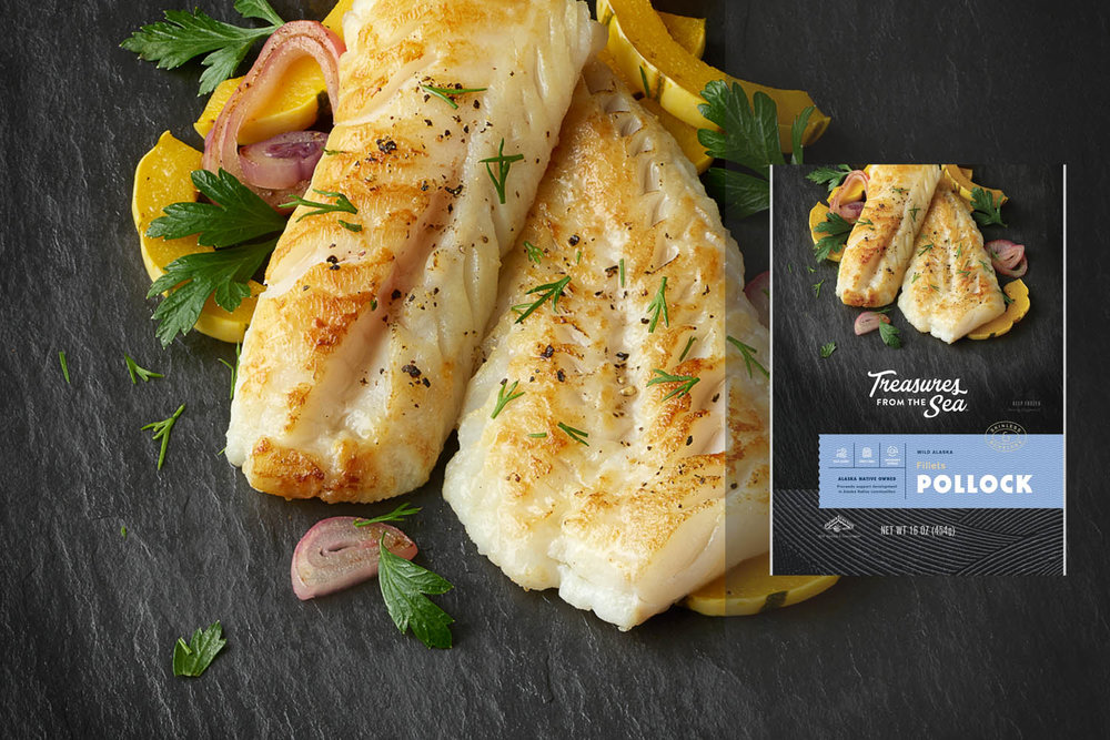ALL NATURAL POLLOCK FILLETS