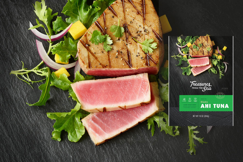 ALL NATURAL  AHI TUNA STEAKS