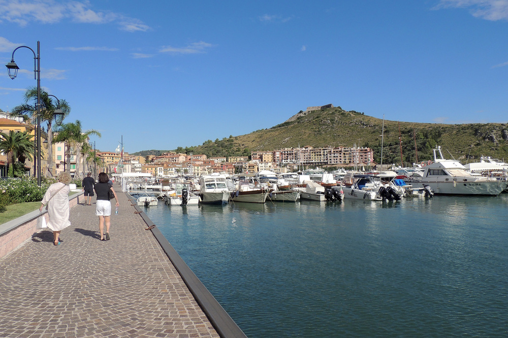 The nearby town of Porto Ercole