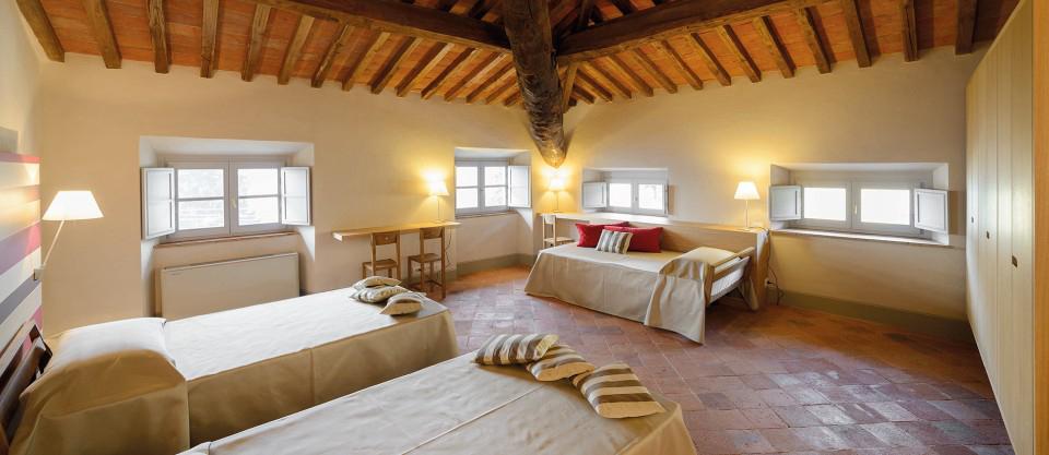 A room at Palazzo Boccella