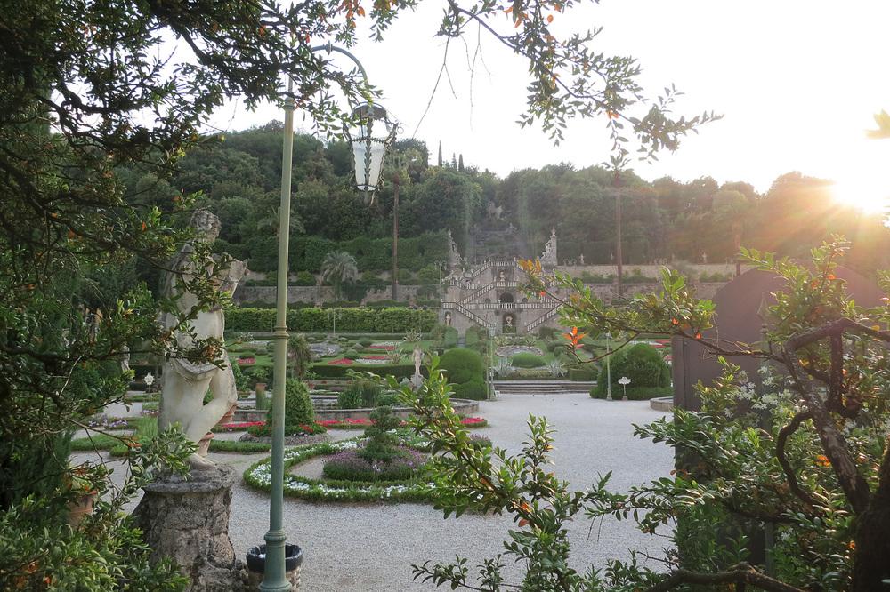 We will visit gardens ...