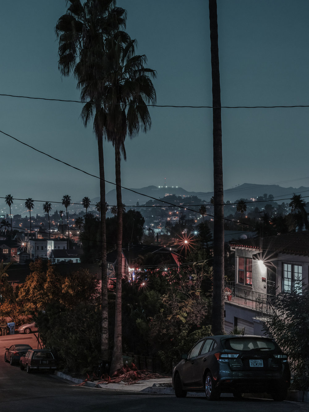 "View from MacBeth St. #1, Los Angeles, 2018.  40"" x 30"", Limited Edition of 2. Archival Pigment Print, Hahnemuhle Fine Art Paper.   Pricing & Purchasing Info"