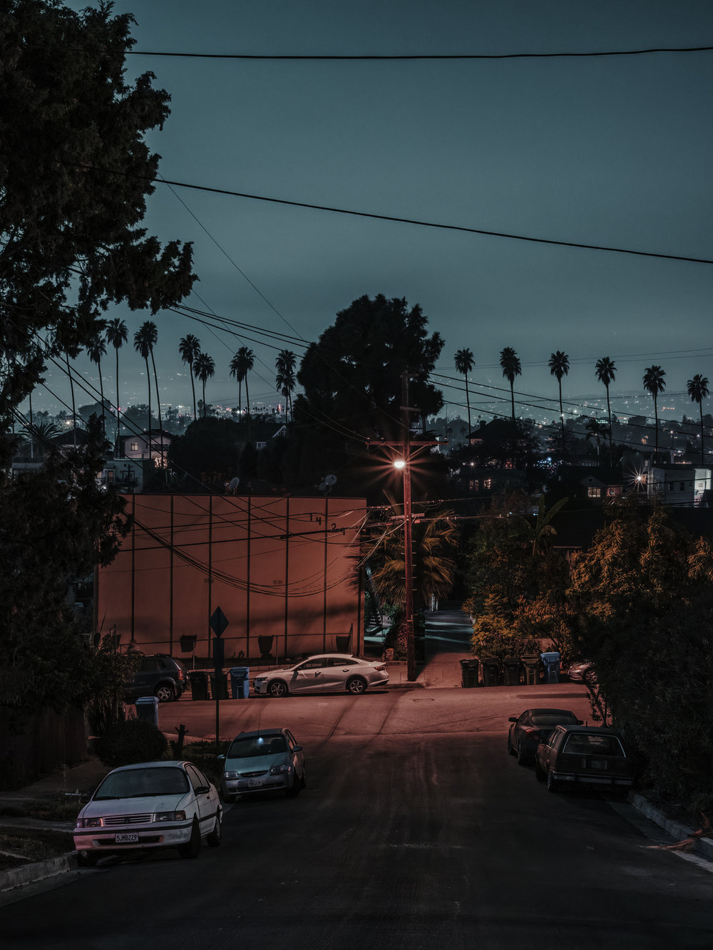 "View from MacBeth St. #2, Los Angeles, 2018.  24"" x 18"", Limited Edition of 5. Archival Pigment Print, Hahnemuhle Fine Art Paper.   Pricing & Purchasing Info"