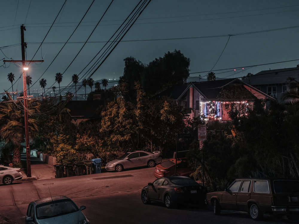 "View from MacBeth St. #3, Los Angeles, 2018.  12"" x 16"", Limited Edition of 9. Archival Pigment Print, Hahnemuhle Fine Art Paper.   Pricing & Purchasing Info"