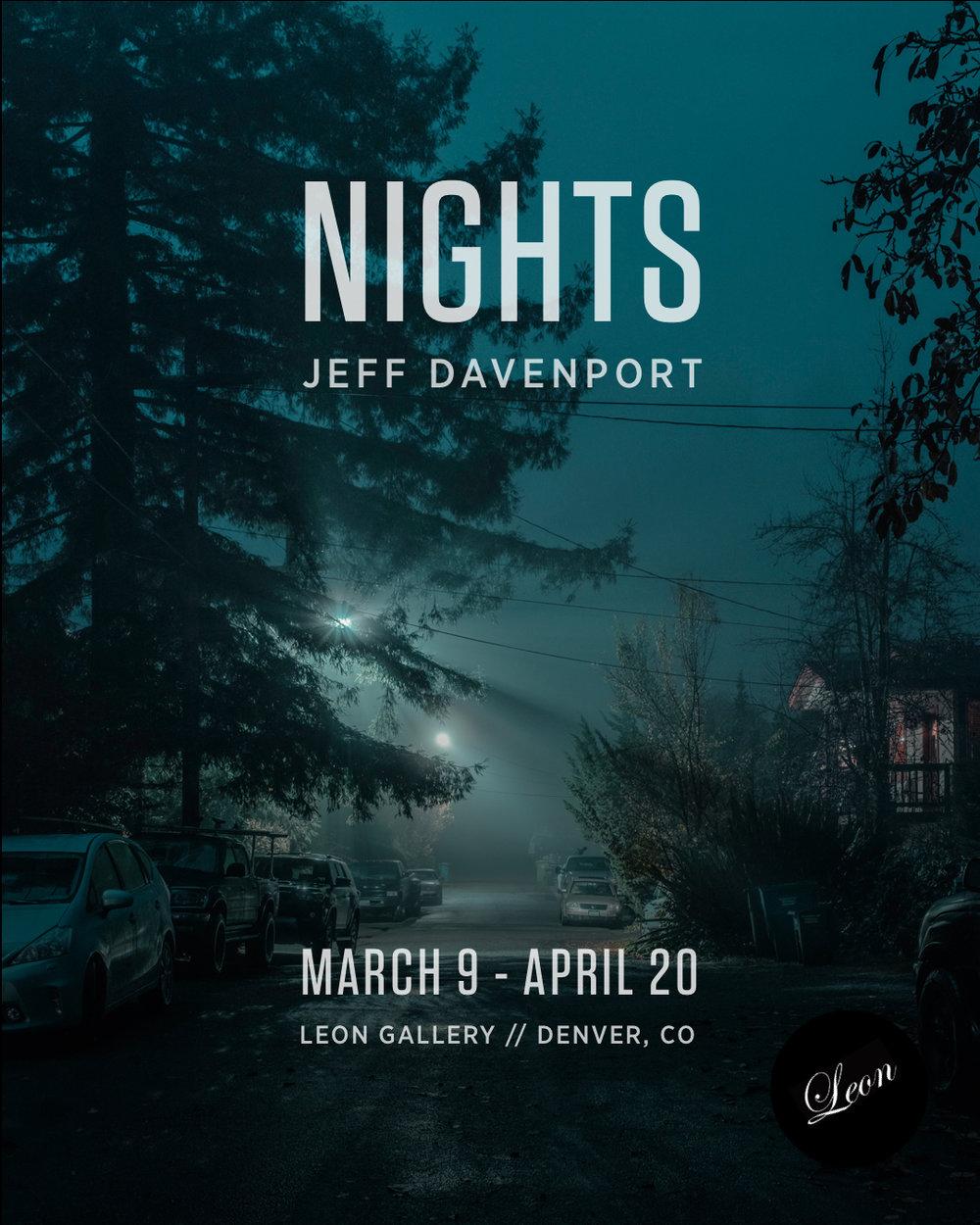 NIGHTS // Solo Exhibition