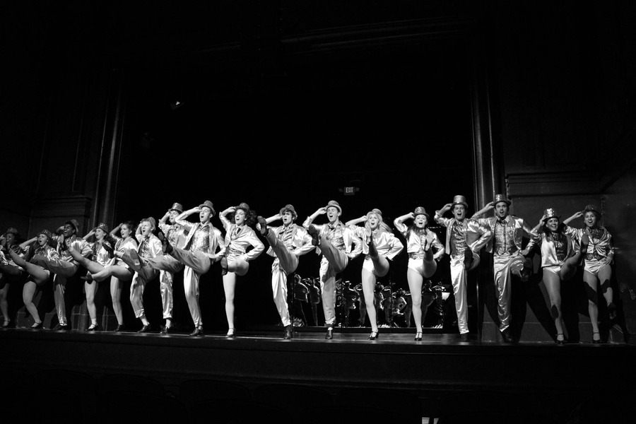 "As for the cast of A Chorus Line, Machicote said, ""I can honestly say that this has been the best cast I've ever worked with. From the very beginning, everyone was incredibly open and accepting. It didn't take long for us to become a family, and even after the show, I still consider them my closest family at UNC."" Even through the auditions, rehearsals, long nights of tech week, and balancing it all with studying, Machicote said it has always been worth it, best expressed by the famous song lyric in A Chorus Line, ""won't forget, can't regret what I did for love."""